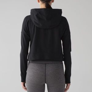 Lululemon cut above cropped hoodie sz 6